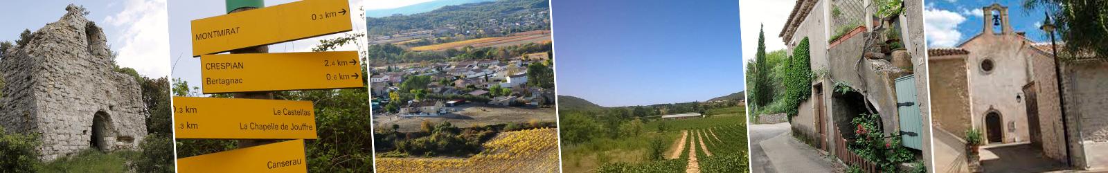 crespian patrimoine histoire village commune