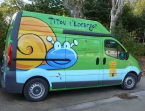 titou l'escargot transport