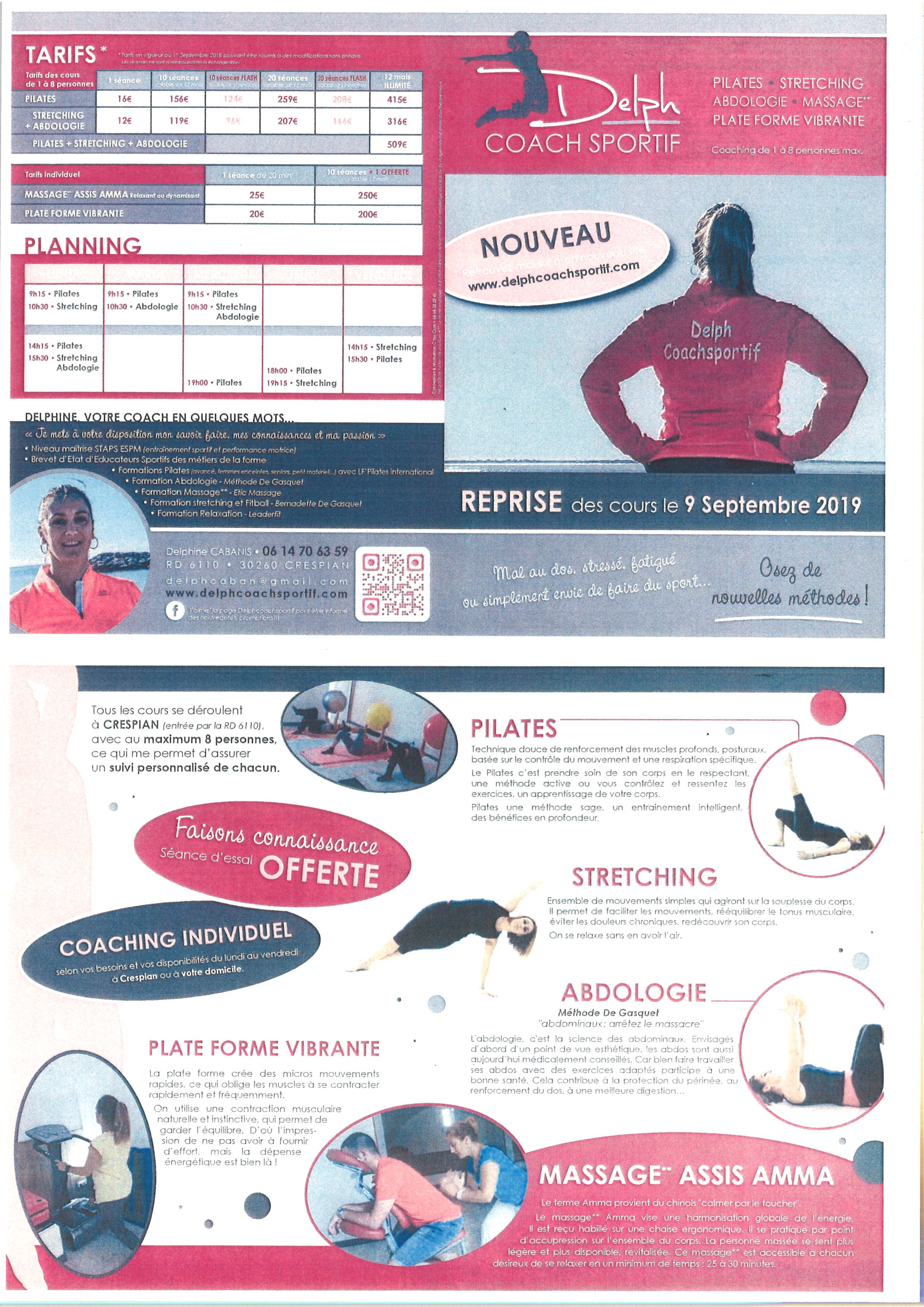Delph Coach Sportif